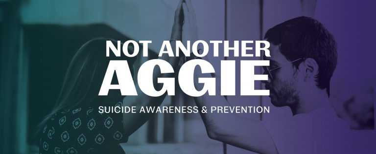 Not Another Aggie Suicide Awareness and Prevention Logo