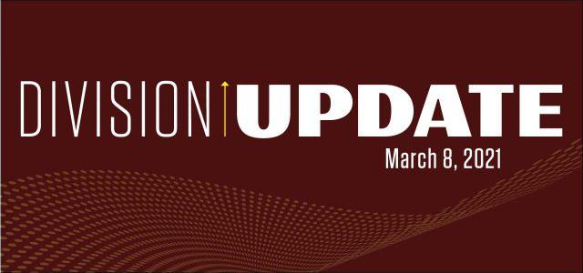 Division Update Header for March 2021