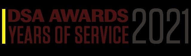DSA Awards Years of Service 2021 Logo