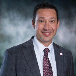 A head shot of David Fujimoto